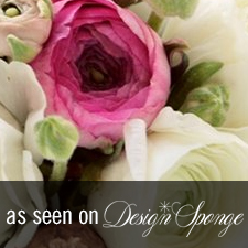 Valentines Design Sponge - Love 'n Fresh Flowers