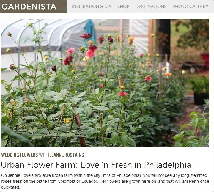 Gardenista  - Love 'n Fresh Flowers