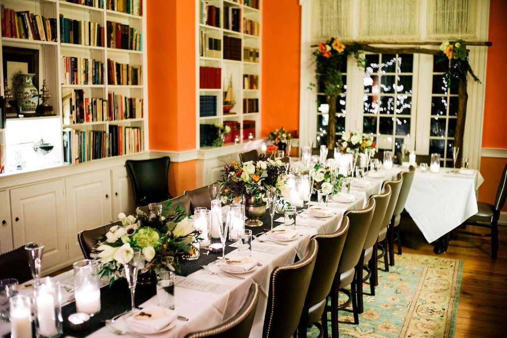 February wedding reception