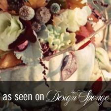 Thanksgiving Design Sponge - Love 'n Fresh Flowers