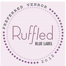 ruffled blue label