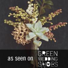 Green Wedding Shoes - Love 'n Fresh Flowers