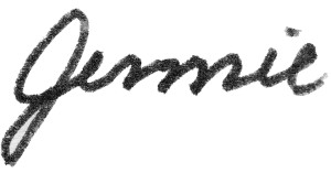 signature just jennie