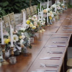 March head table at the Horticulture Center