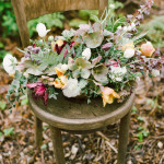 A spring centerpiece captured beautifully by Maria Mack Photography